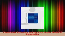 Personality Disorders and the FiveFactor Model of Personality Ebook Free