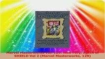 Marvel Masterworks Vol 129 Nick Fury Agent of SHIELD Vol 2 Marvel Masterworks 129 PDF Free