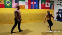 UFC Fighter takes on the Mountain from Game Of Thrones! Epic Fight! Conor McGregor