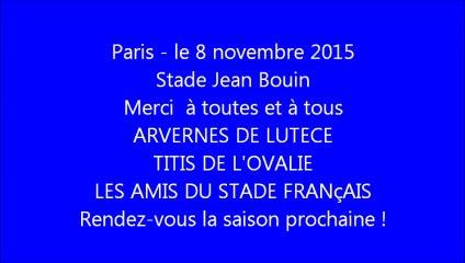 8 novembre 2015 - Avant Stade vs Clermont