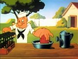 Video 1954 GOPHER SPINACH - Popeye color cartoon