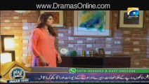 Ishqa Waay Episode 33 On Geo Tv November 2015