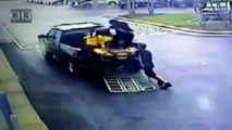 ATV Loading FAIL: Two Guys Fail To Load An ATV Into A Truck | Driving ATV Onto Truck Gone