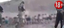 IŞİD'in görülmeyen katliamı arşivden çıktı... 200 çocuğu kurşuna dizdiler