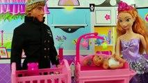 Tangled Mini Movie Starring Elsa Magic Hair & Flynn Rider goes to Jail. Part 2. DisneyToys
