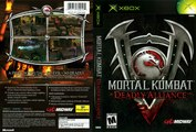 Mortal Kombat games - Mortal Kombat: Deadly Alliance and Mortal Kombat: Tournament Edition.