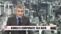 Korea's corporate tax to GDP ratio is 6th in OECD