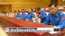 Myanmar celebrates early election victory for Aung Sang Suu Kyi's party