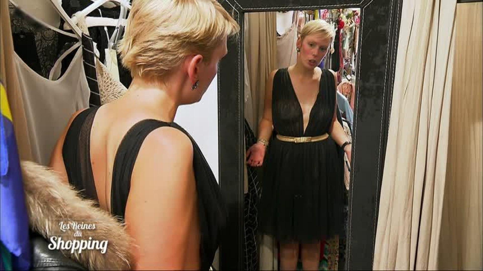 transparente vestido completamente prueba un ¡Audrey SUzpMV