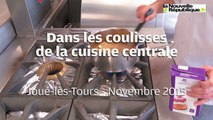 VIDÉO. Joué-lès-Tours (37) : dans les coulisses de la cuisine centrale