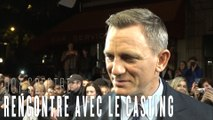 007 Spectre : interview de Daniel Craig, Léa Seydoux, Christoph Waltz et Monica Bellucci