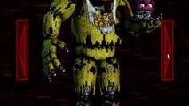 FNAF 4 Secret Nightmare Animatronic | Five Nights at Freddys 4 All Animatronics
