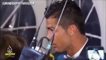 Cristiano Ronaldo is Annoyed by a Question during Interview Malmö FF vs Real Madrid