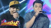"It's Showtime: Jimboy Martin raps ""Sirena"" with Gloc 9"