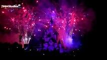 Feu dartifice du 14 Juillet 2015 à Disneyland Paris [HD]