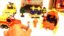 Sam le pompier aide Nicolas Prins Fireman Sam story toys Strażak Sam | firefighter story | Sam el bombero le pompier