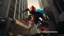 LEGO®  Hero Factory TV-Spot 'Evo XL vs Splitter Beast' (Svenska)