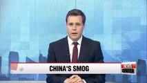 Toxic haze hangs around in China
