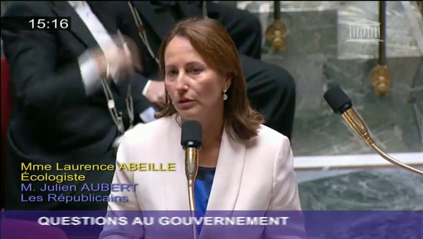 Lutte contre le braconnage : Ségolène Royal répond à une question au Gouvernement