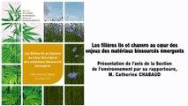 Les filières lin et chanvre au cœur des enjeux des matériaux biosourcés émergents - cese