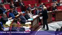 Pacale Boistard répondà une question de la députée Chaynesse Khirouni sur la campagne #HarcelementAgissons