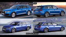 2016 Audi Q7 Vs 2015 Audi A6 Avant (Wagon) Whats the Difference?