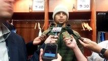 PostGame- Stephen Curry on Klay Thompson - Pistons vs Warriors
