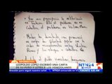 Leopoldo López denuncia persecuciones a su partido en una nueva carta enviada desde la prisión