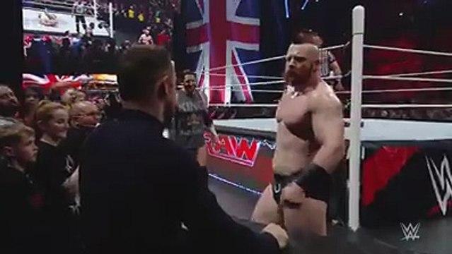Wayne Rooney slaps WWE wrestler Wade Barrett
