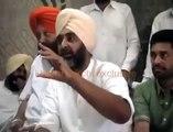 Manpreet Badal Comment on Sukhbir Badal