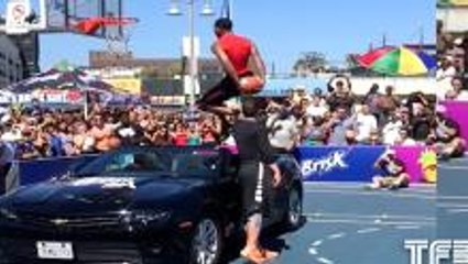 Guy Dupuy with the BEST dunk of the Summer