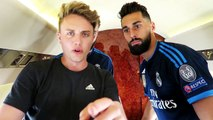 Flying With Real Madrid C.F. & Manchester United F.C. -- Gamedayplus Episode 1 -- adidas F