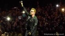 "U2 ""Sunday Bloody Sunday"" live in Paris - 10/11/2015"