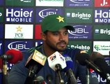 Press Conference Pakistan ODI Captain Azhar Ali at Sheikh Zayed Cricket Stadium, Abu Dhabi ahead of 1st odi between pak vs england