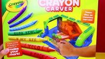CRAYON CARVER Crayola Crayon Maker DIY Coloring School Supplies For Back To School