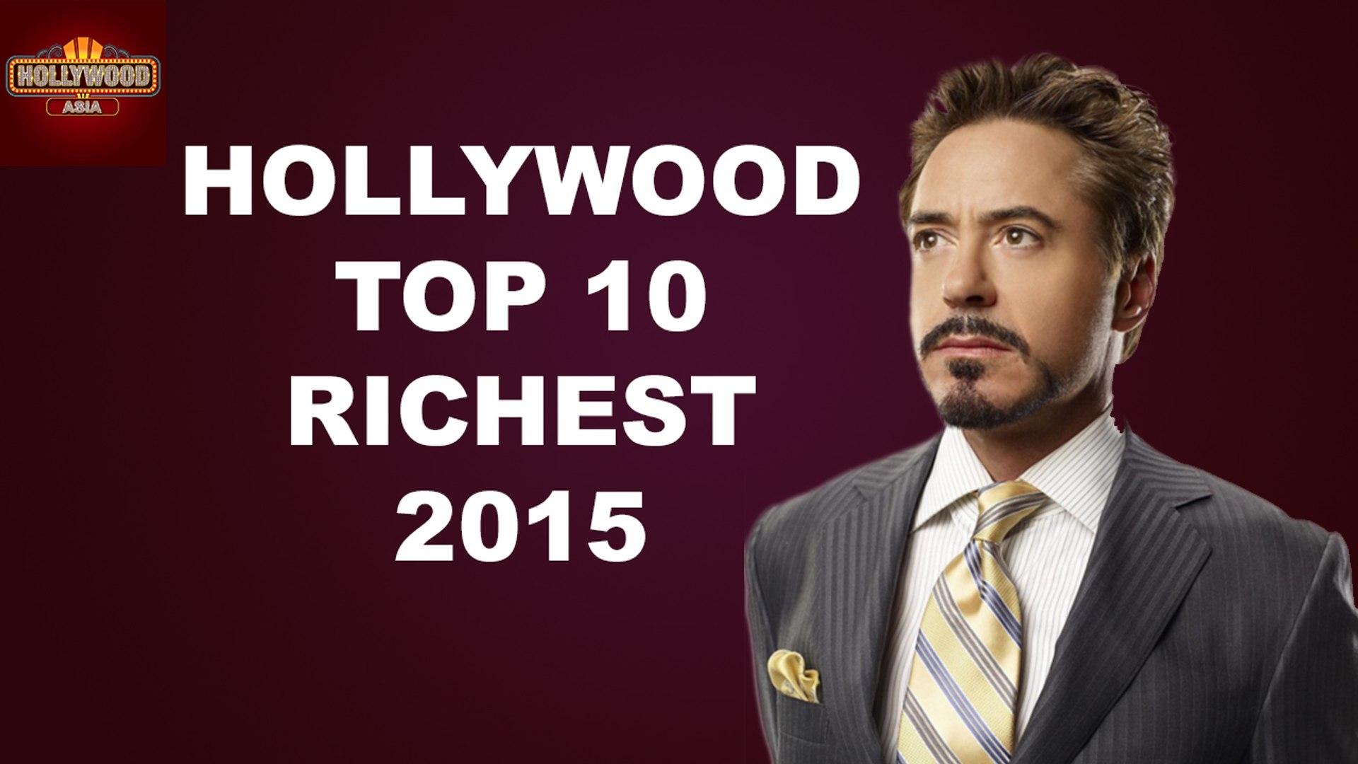 Hollywood TOP 10 RICHEST 2015 | Hollywood Gossip