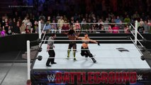 WWE 2K16 naomi v tokara blaze v indo mccloud