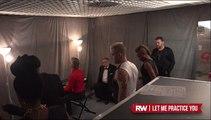 Robbie Williams Let Me Entertain You rehearsal