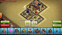 Clash of Clans - NEW TH7 DEFENSE - HYBRID BASE - CLAN WAR BASE - AIR SWEEPER DEFENSE - NEW UPDATE