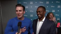 Chris Evans & Anthony Mackie Interview Captain America: Civil War (2016) D23 EXPO