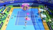 Mario Tennis Ultra Smash - Bowser Battle Gameplay