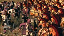 Leonidas of Sparta vs Hector of Troy Rome 2 Total War - video
