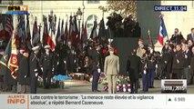 François Hollande inaugure les commémorations du 11 novembre 2015
