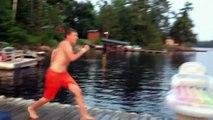 Fais gaffe au bord de l'eau - Compilation de gamelles bien ridicules