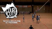 Top 10 CourtCuts FFBB du 7 Novembre