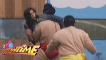 It's Showtime: Tommy vs. Sumo Wrestlers