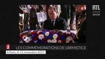Nicolas Sarkozy et François Hollande se croisent aux commémorations du 11 novembre