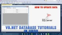 P(9) VB.NET Database Tutorial In Urdu - Update Data