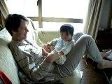 je joue avec Papa