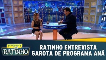 Ratinho entrevista garota de programa anã